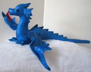 Shinny dragon, 16 inches long. $16.50