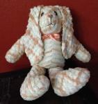Bunny peach/white