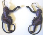monkey earrings2