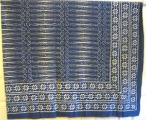 Indigo whole cloth #407