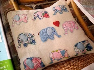 pillow, elephant