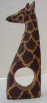 Set of 4 giraffe napkin rings