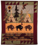 buffalo Camp pattern #8816