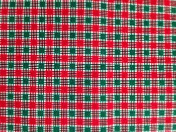 christmas plaid fabric unique spool - Christmas Plaid Fabric