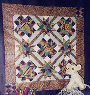 Quilt Patterns by Jean Boyd: The Dancing Elephant: An African Folk