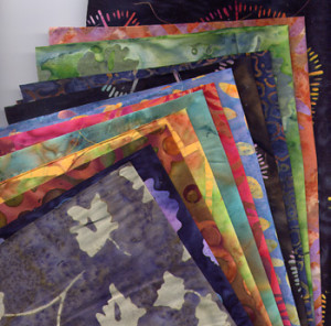 Bali Batik fat thirds bundle