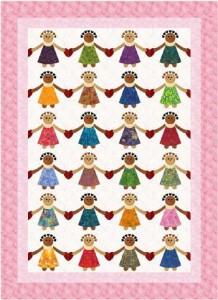 Friends Care Quilt pattern #8104