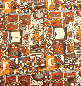 African print #513
