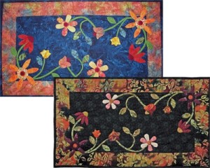 Floral Table Runner #8109