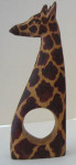 Set of 4 giraffe napkin rings